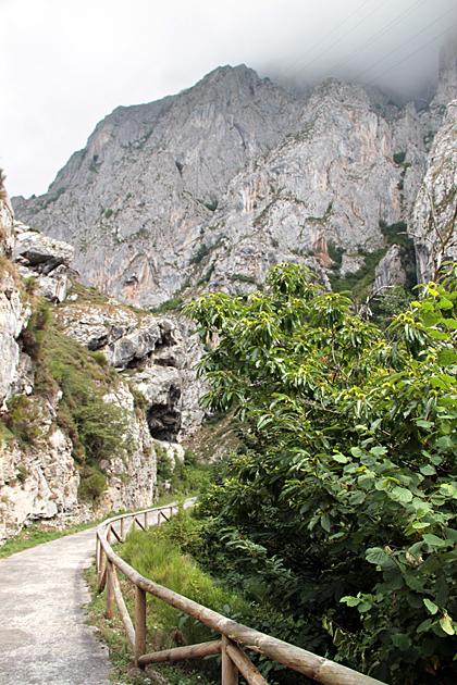 wandern asturien