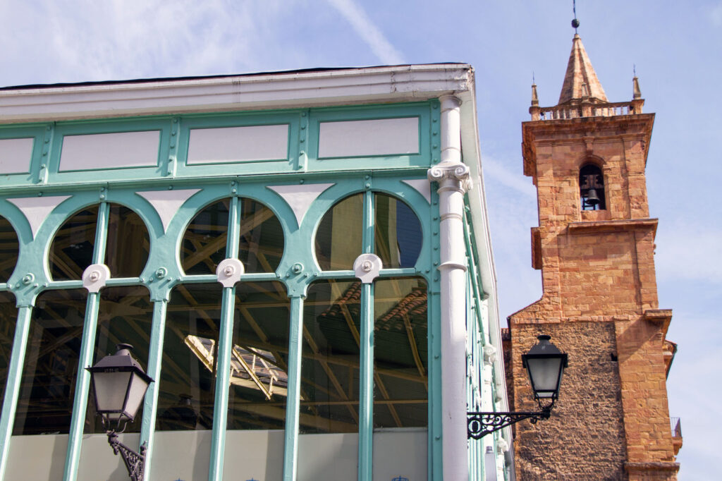 Oviedo Market And Bell Tower