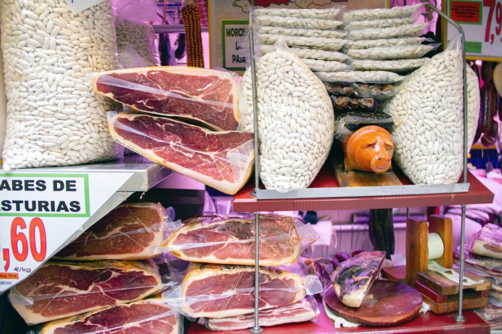 Jamon And Beans Oviedo Asturias