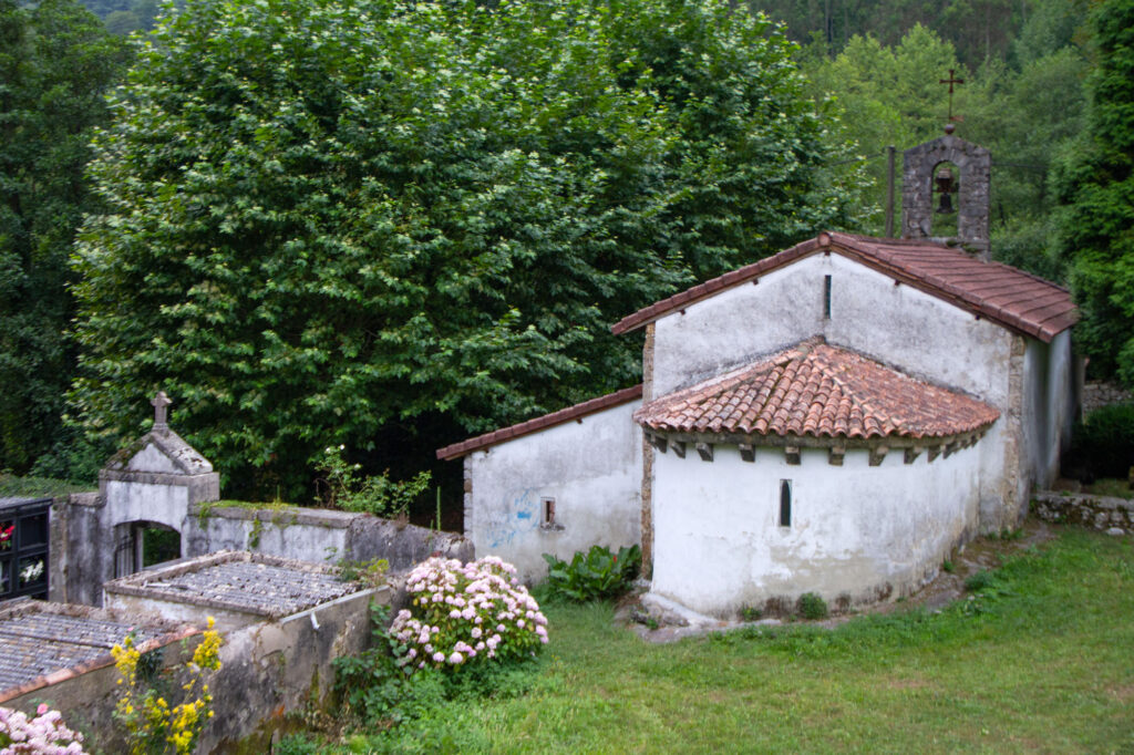 Spanish Friedhof Asturien