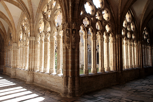 The Gothic Cloister of Oviedo's Cathedral