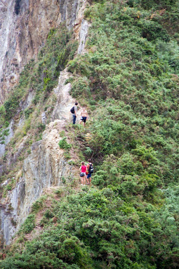 Hikers In Asturias