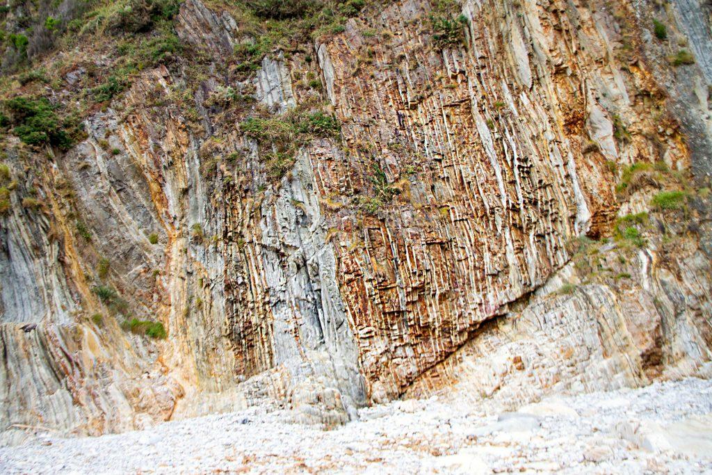 Rock Formation Asturias Beach