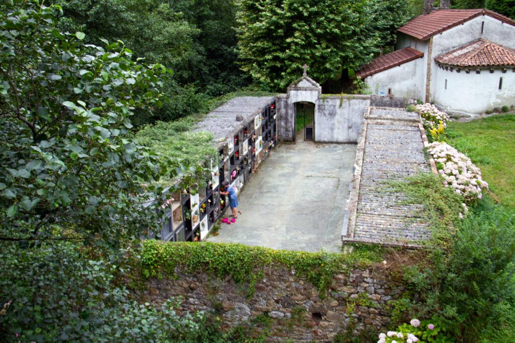 Spanish Cemetery Asturias