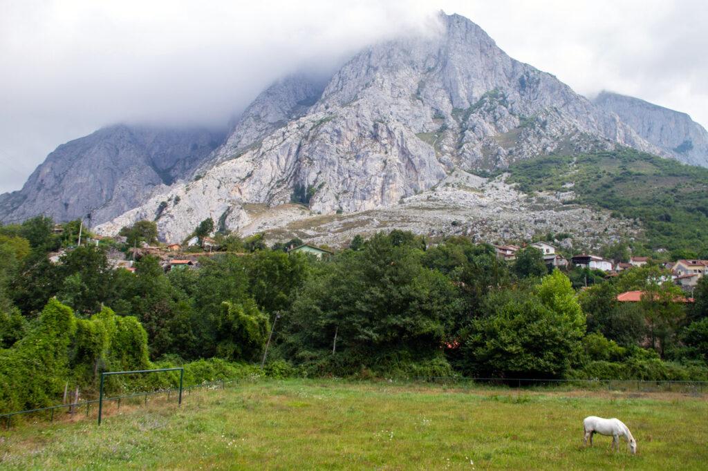 Asturias Landscapes Stock