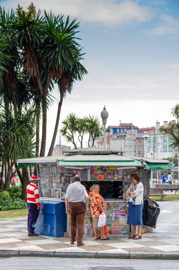 Kiosco Gijon Asturias