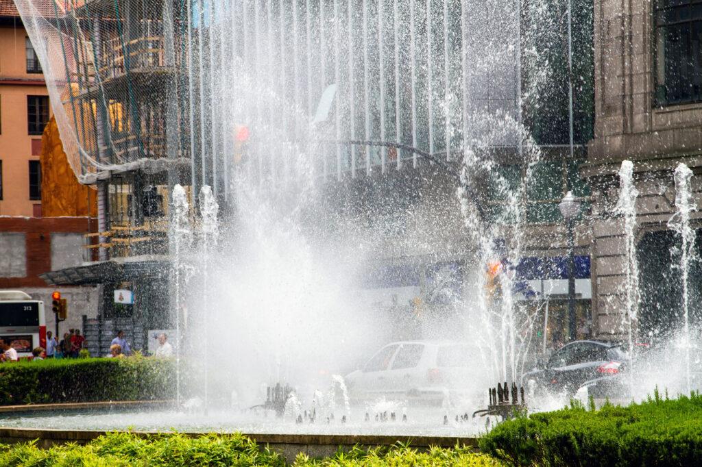 Gijon Asturias Fountain