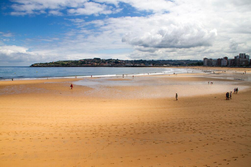 Beaches of Gijon Asturias