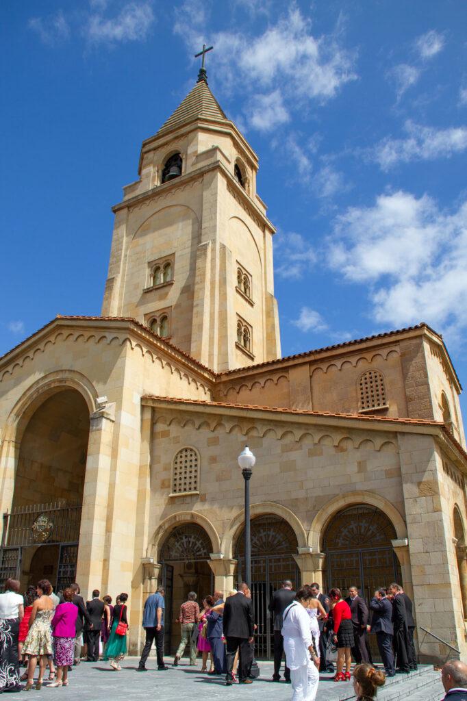 Gjon Asturias Cathedral Stock Photo