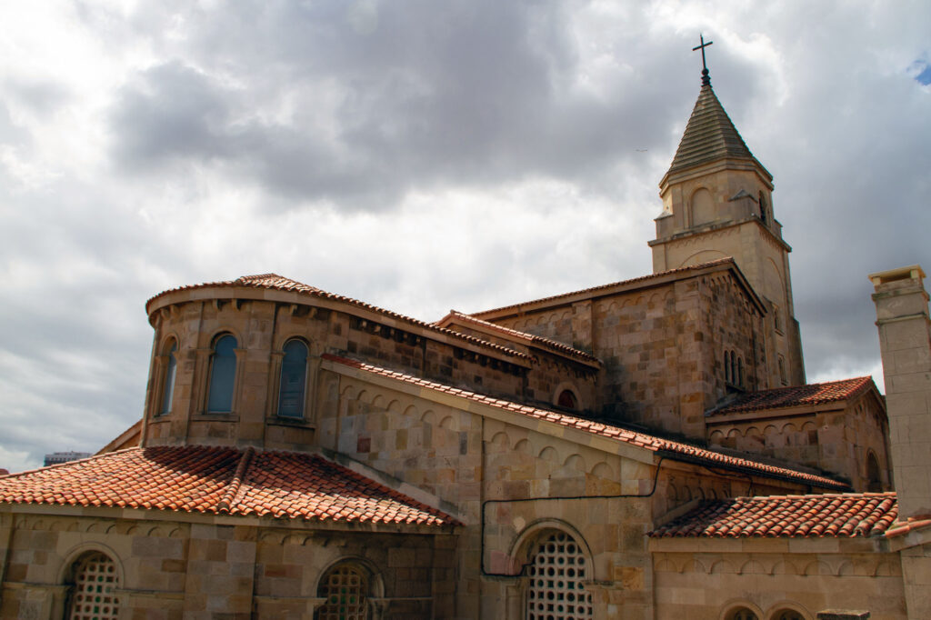 License Photo of Cathedral in Gijon Asturias