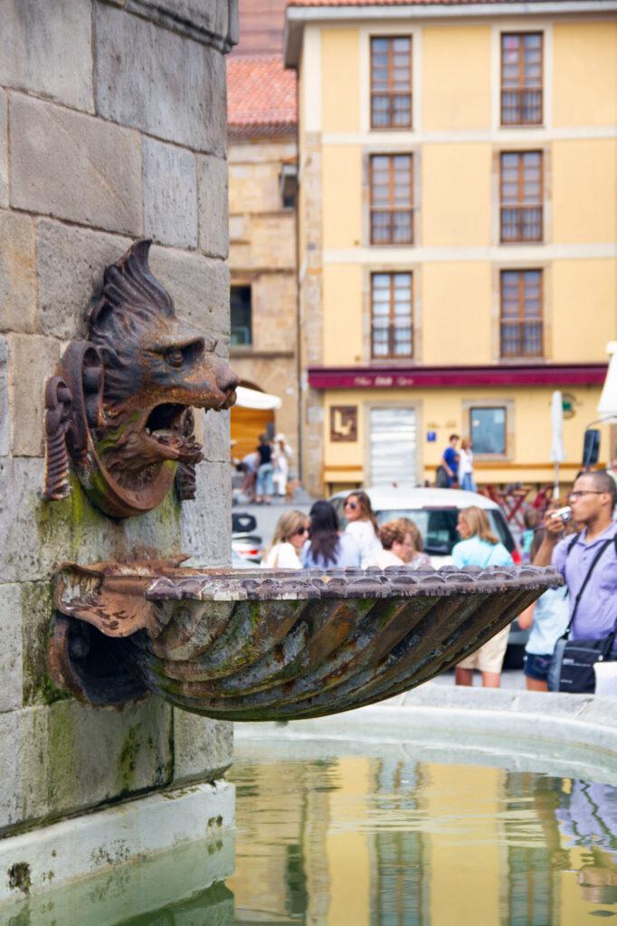Gijon Fountain Asturias