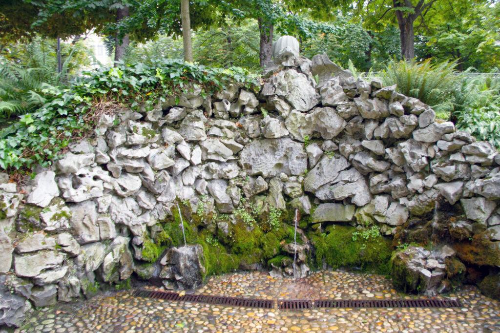 Old Stone Fountain Oviedo Asturias