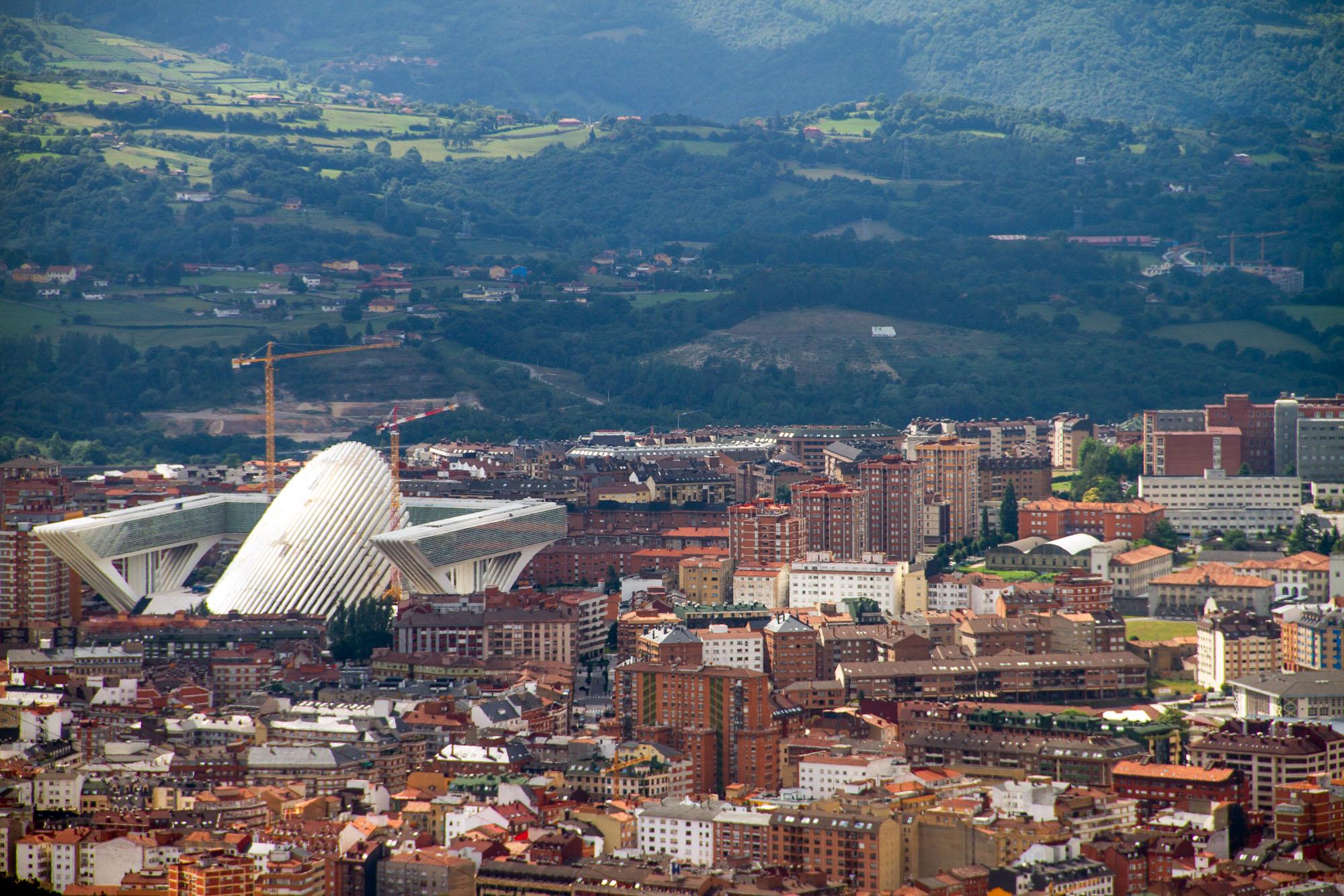 Calatrava Oviedo Panorama