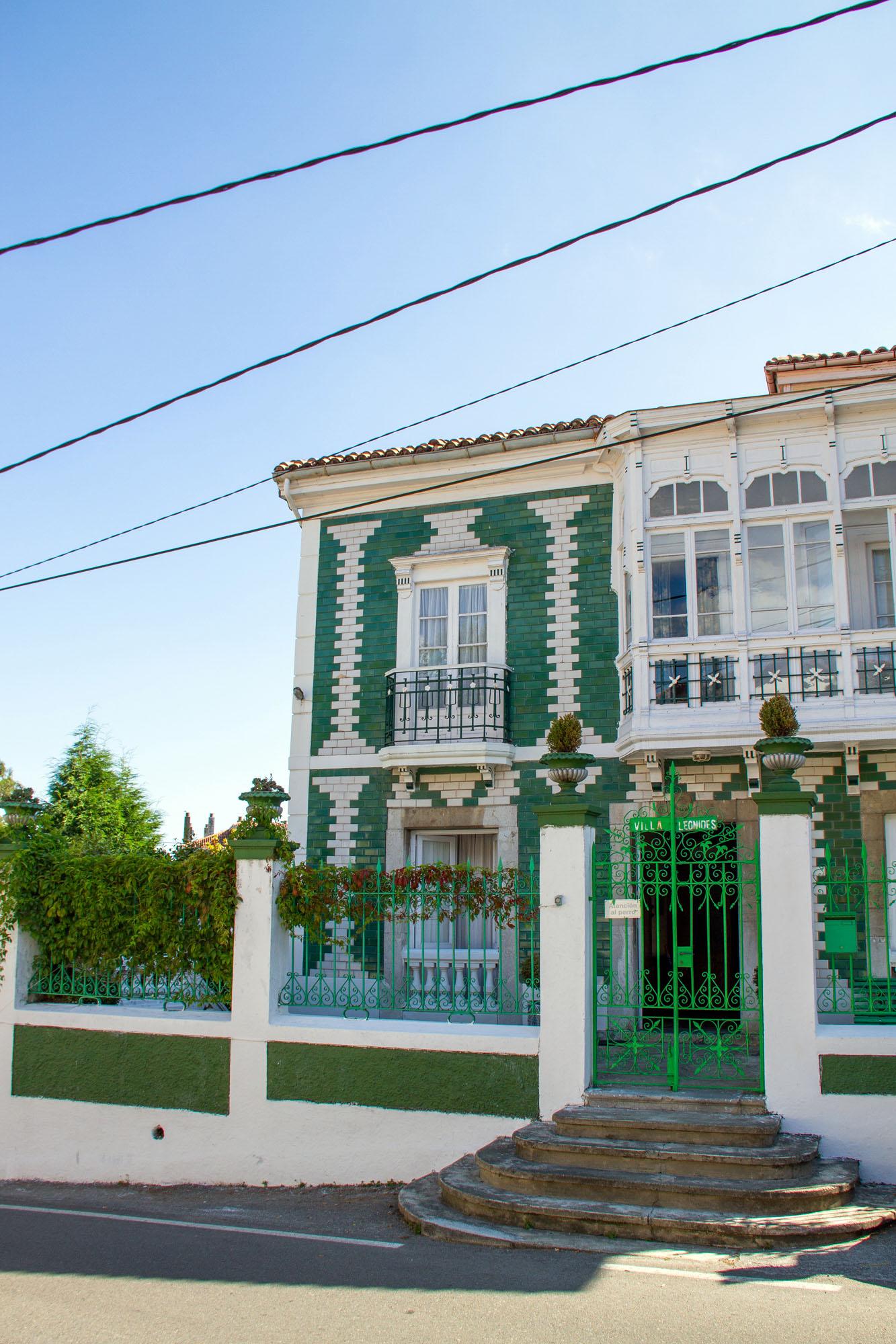 Casa verde Cudillero