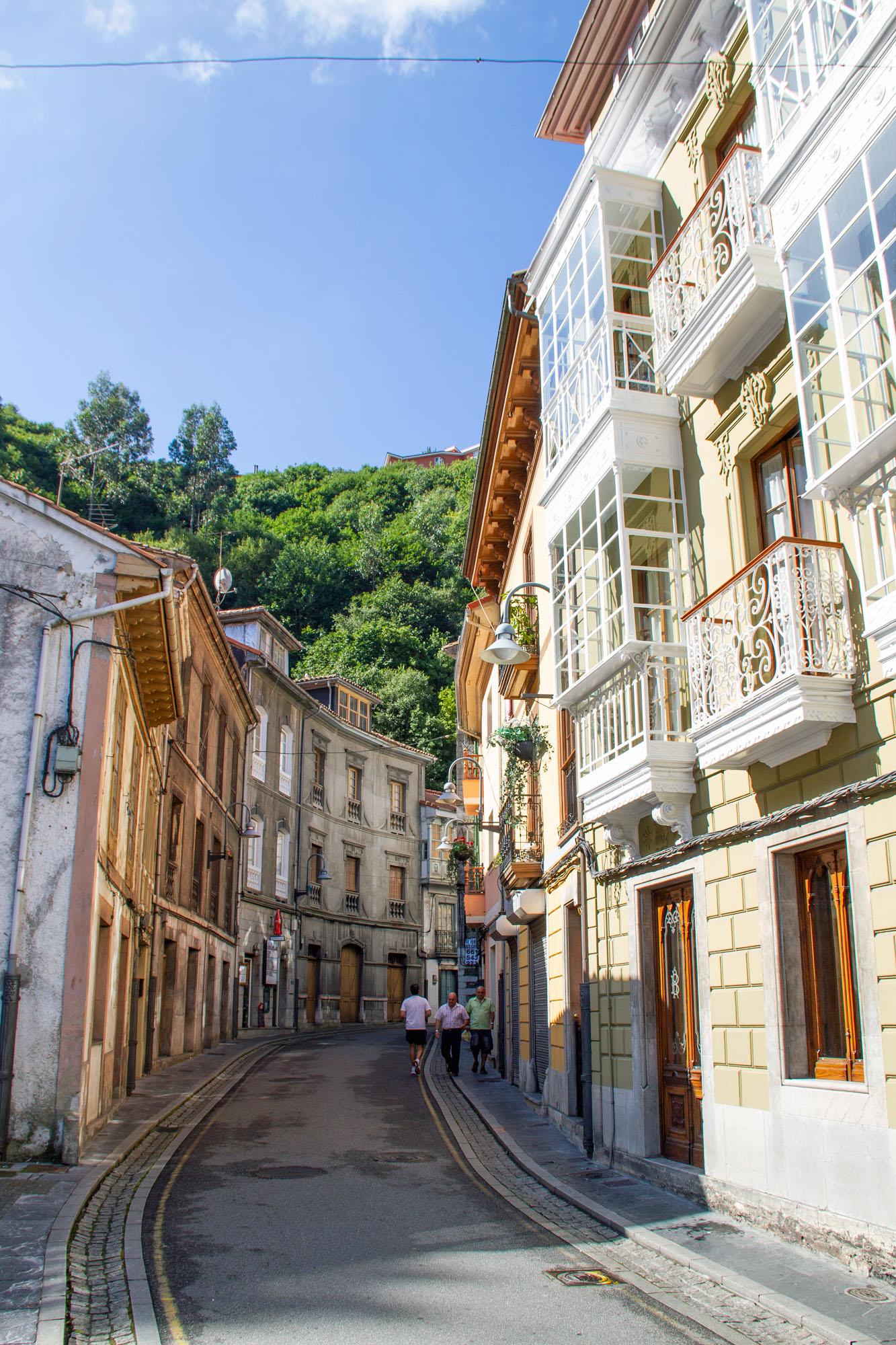 Cute Little Streets Cudillero Asturias