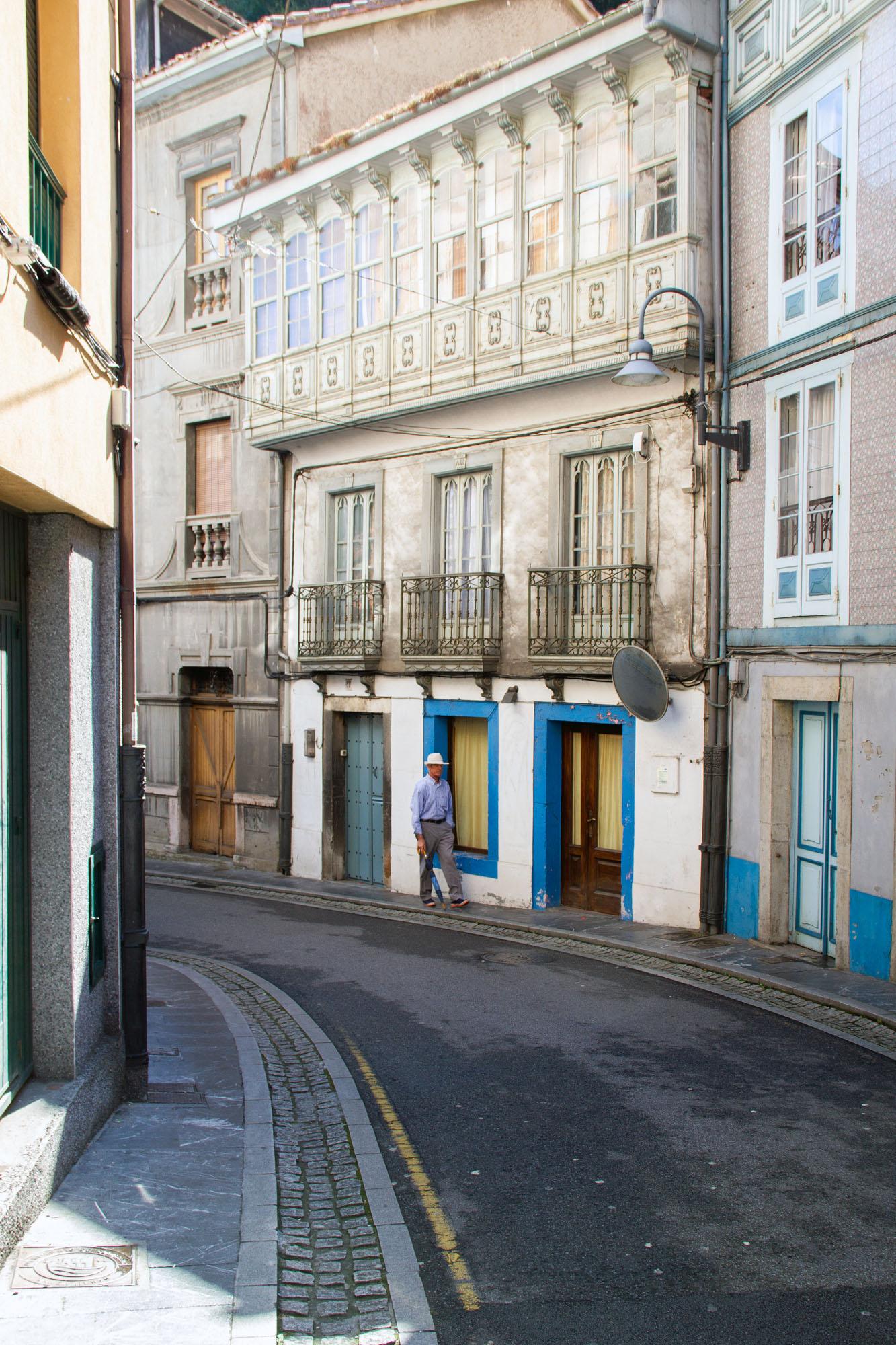 Cudillero small streets
