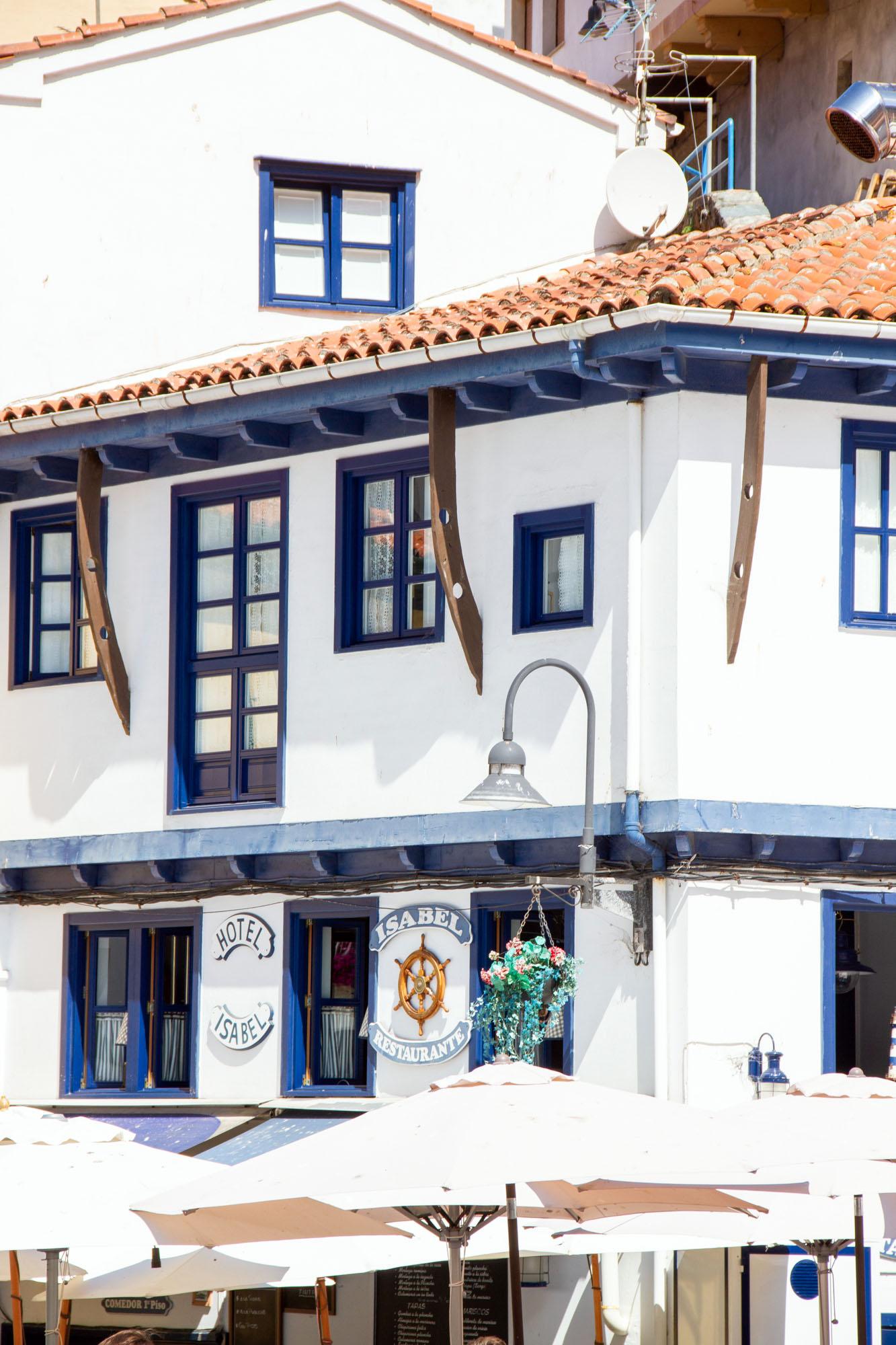 Restaurante Isabel Hotel Cudillero