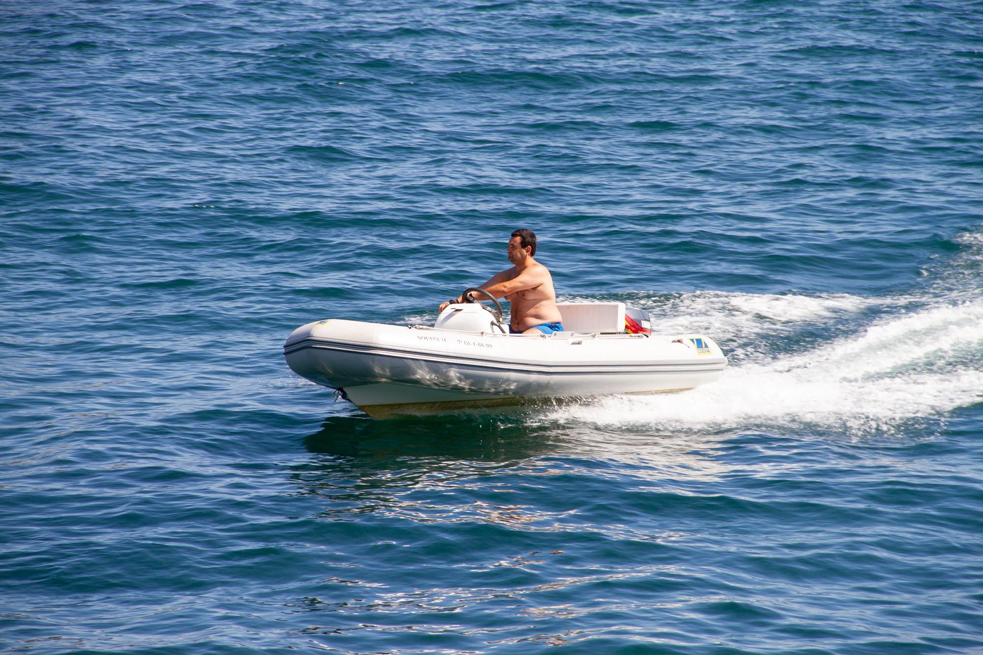 Small Rubber Boat