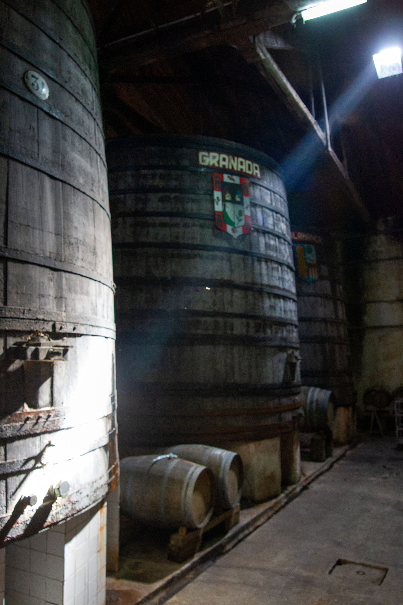 Old Cider Wood Barrel Tall
