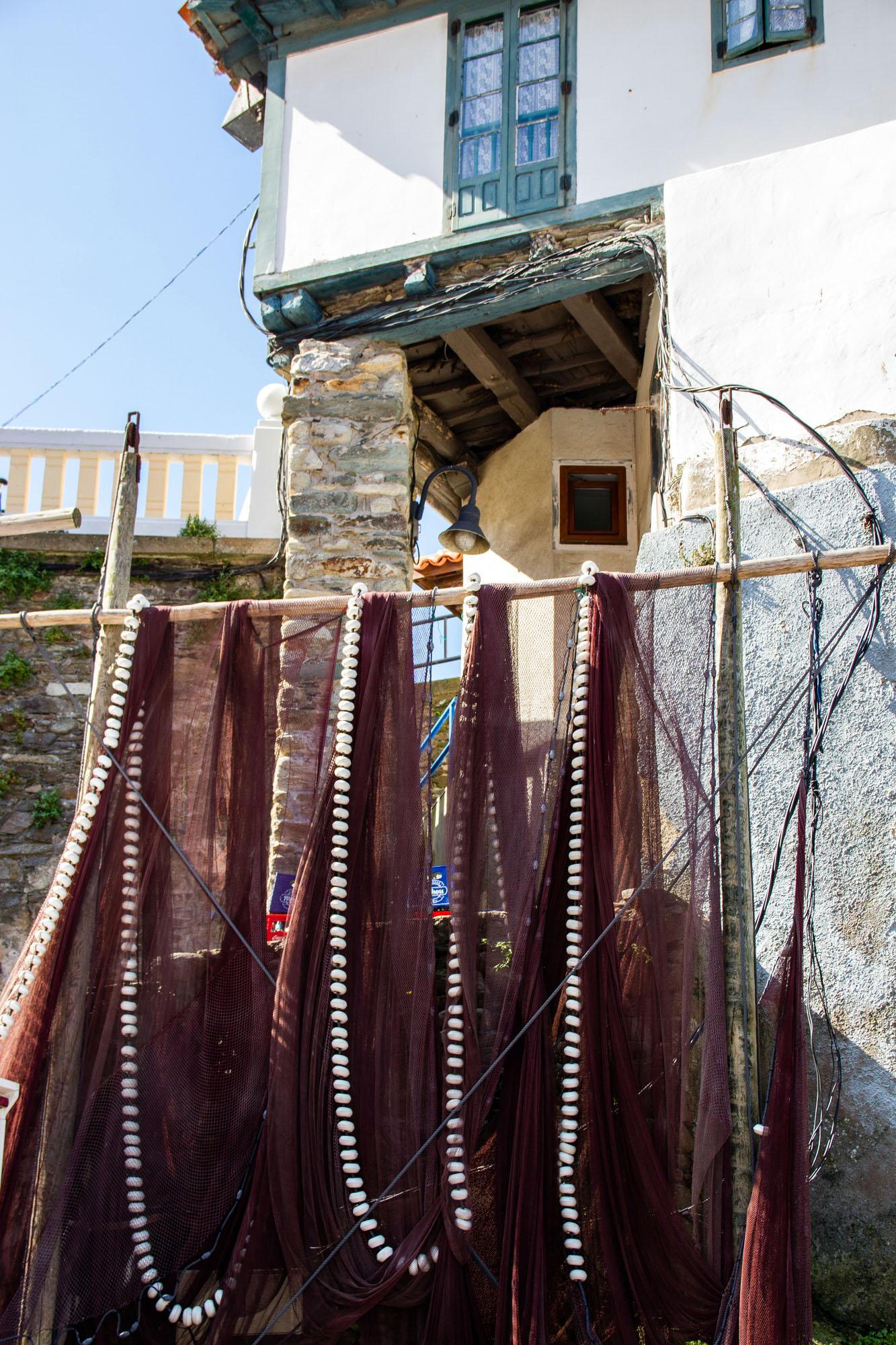 Cudillero Fishing nets