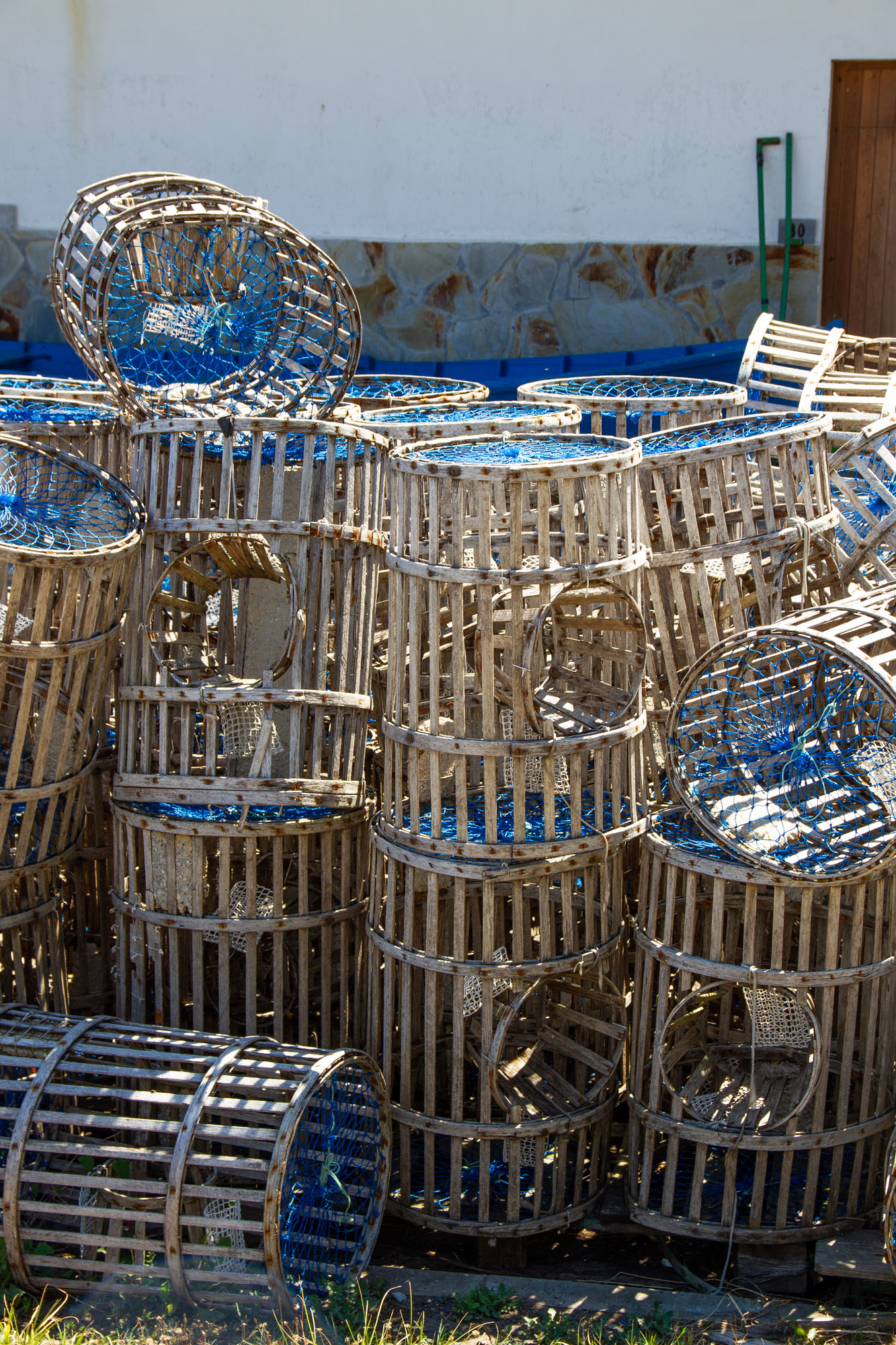 Cudillero Asturias Lobster Baskets