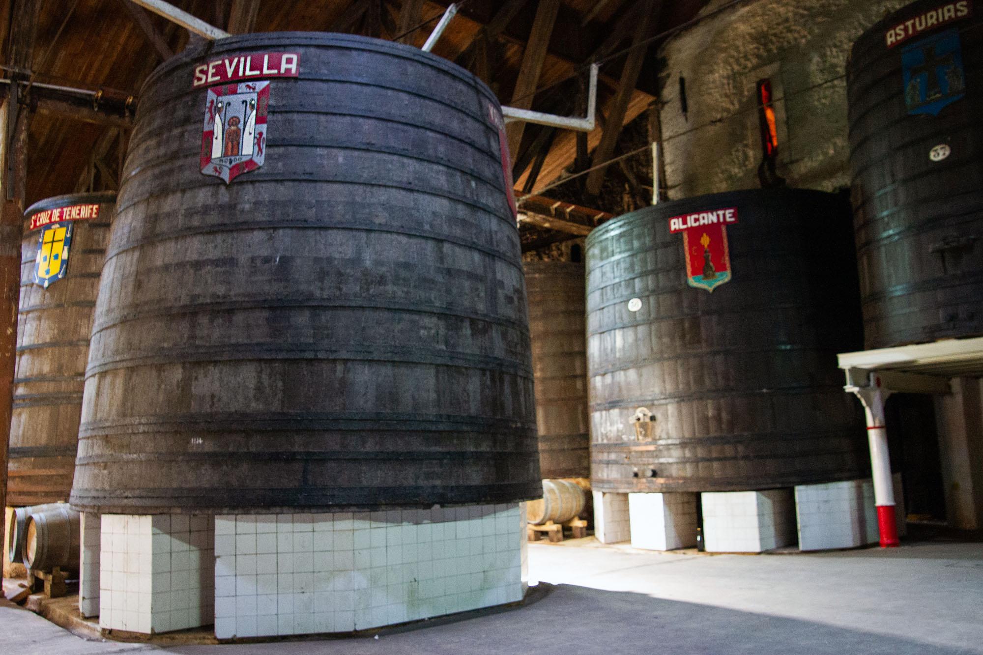 Provinces of Spain Cider Barrels