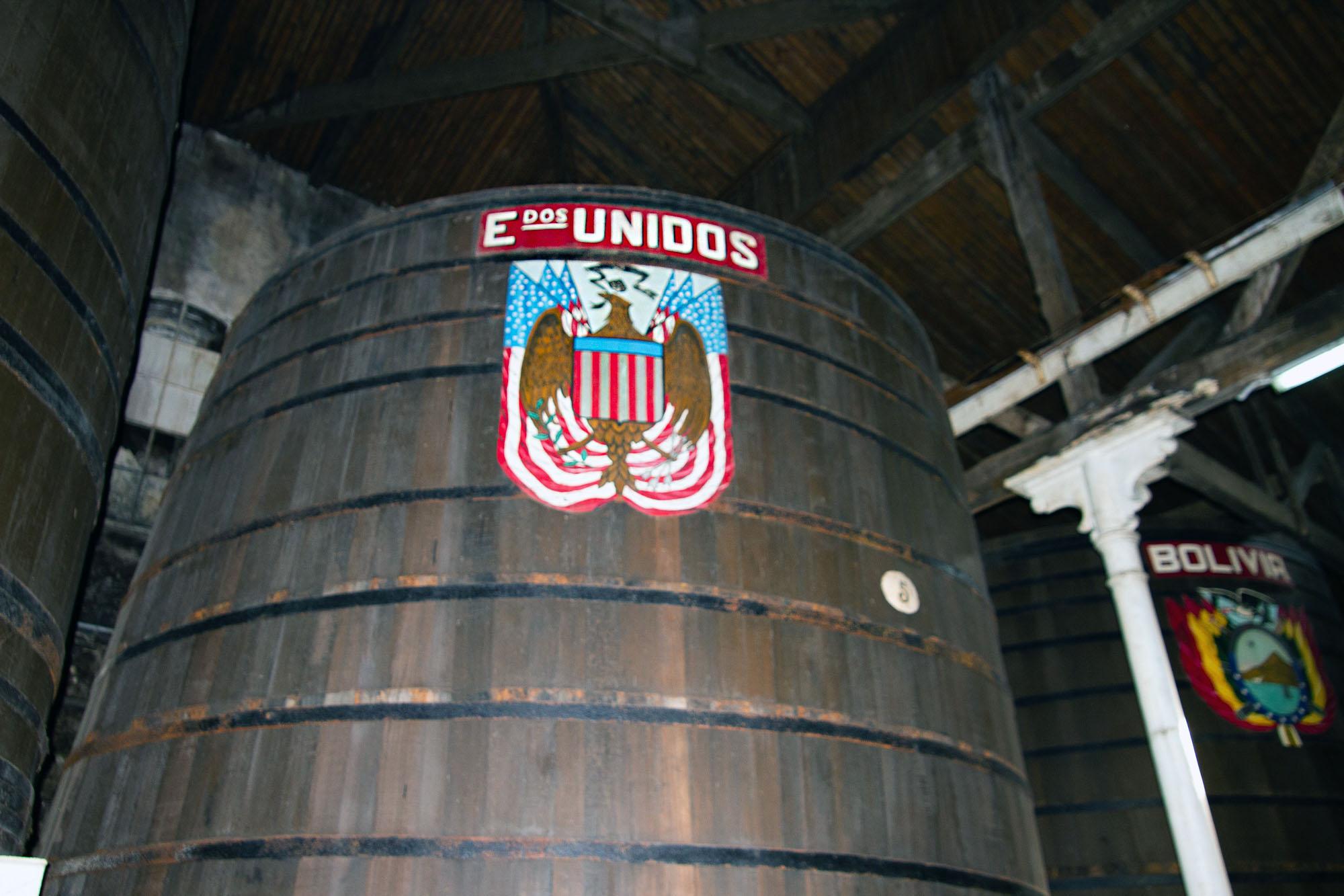 USA Cider Barrel