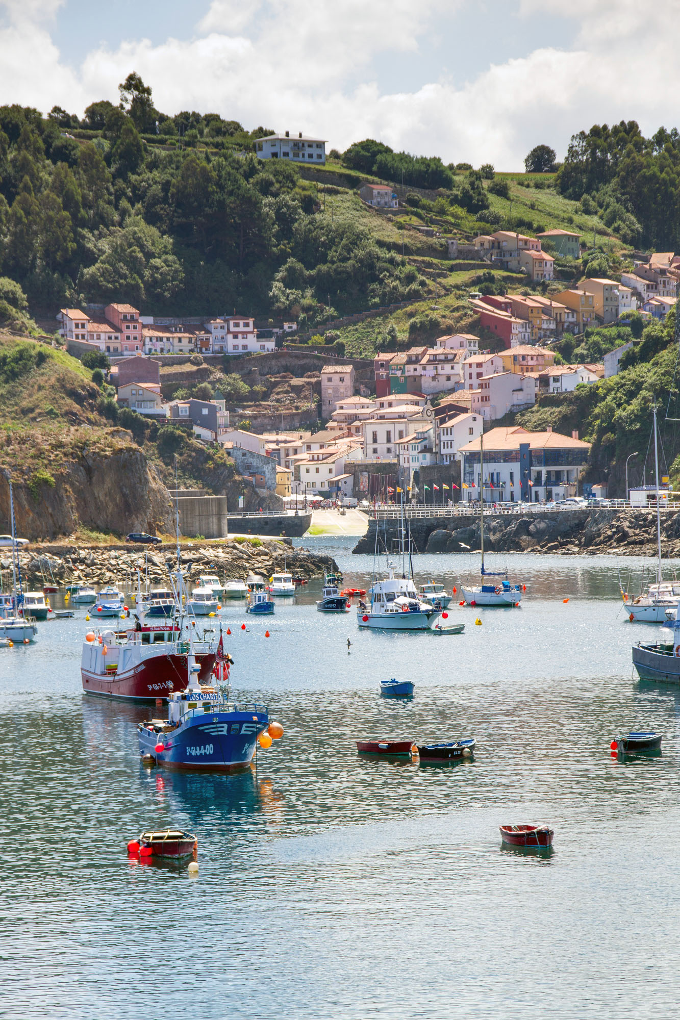 Fishing Boats Cudillero Spain