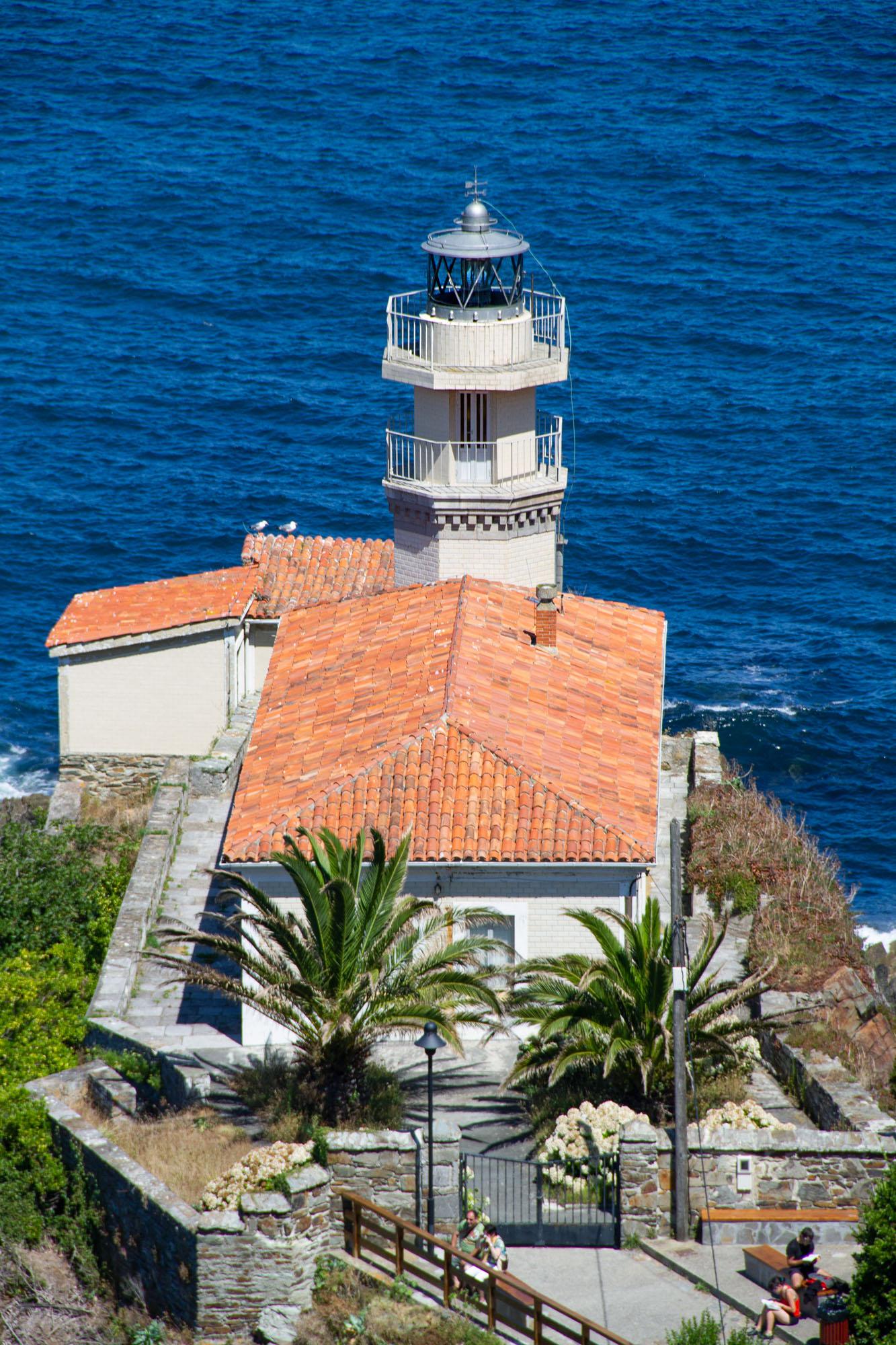 Lighthouses Spain - Asturias, Cudillero