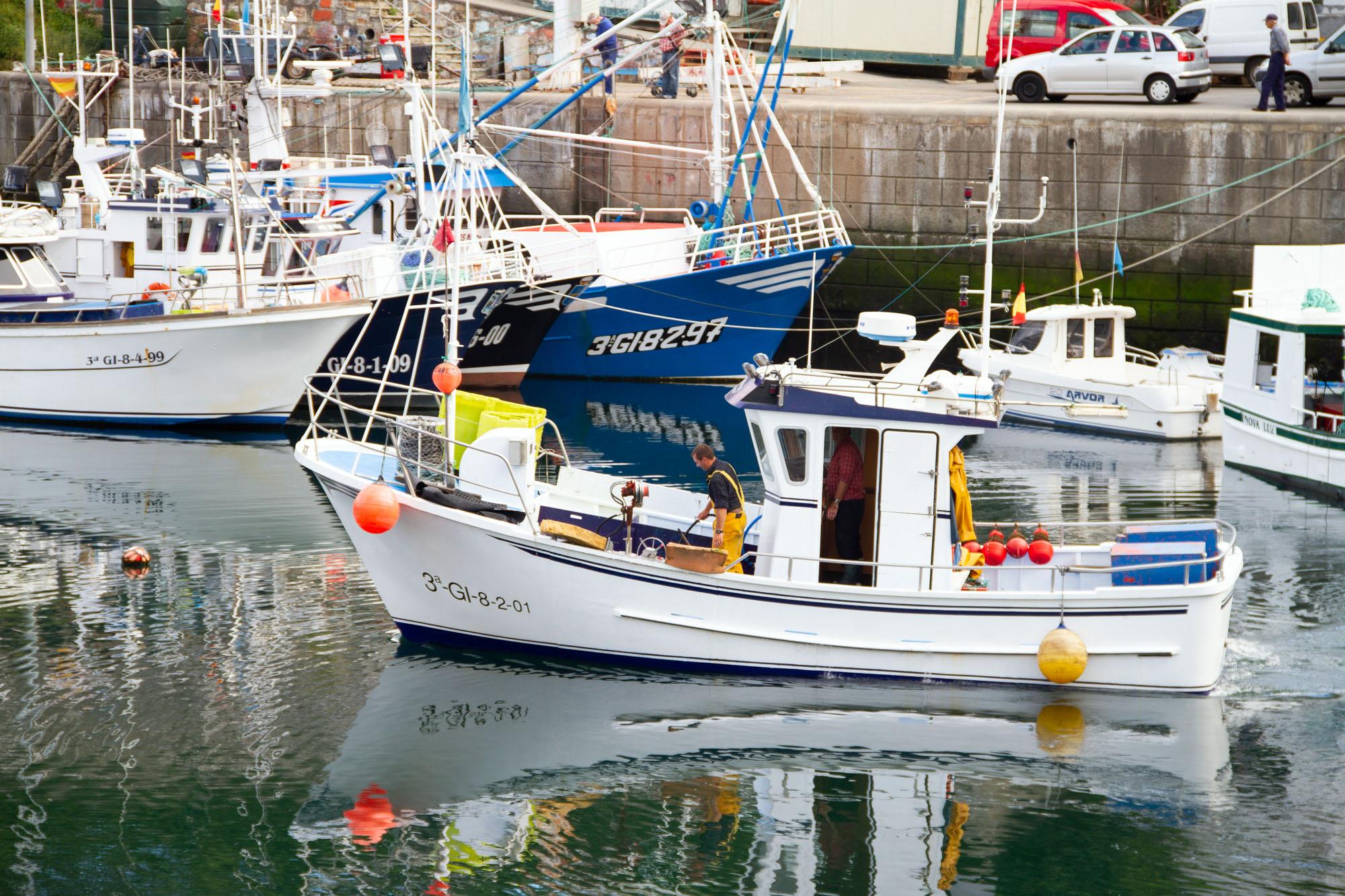 Fishing Stock Photos Boat Asturias, Spain