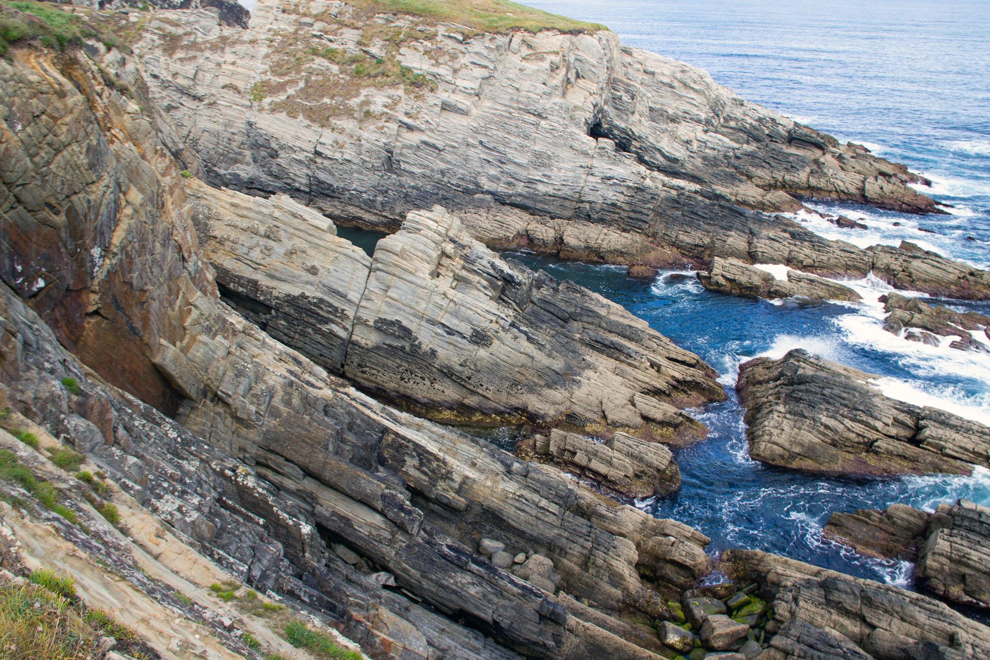 Rock Formation Asturias Coast