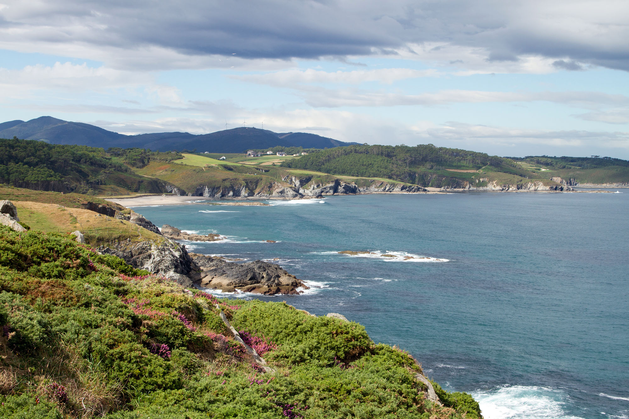 Beautiful Photo Asturias Coast Line