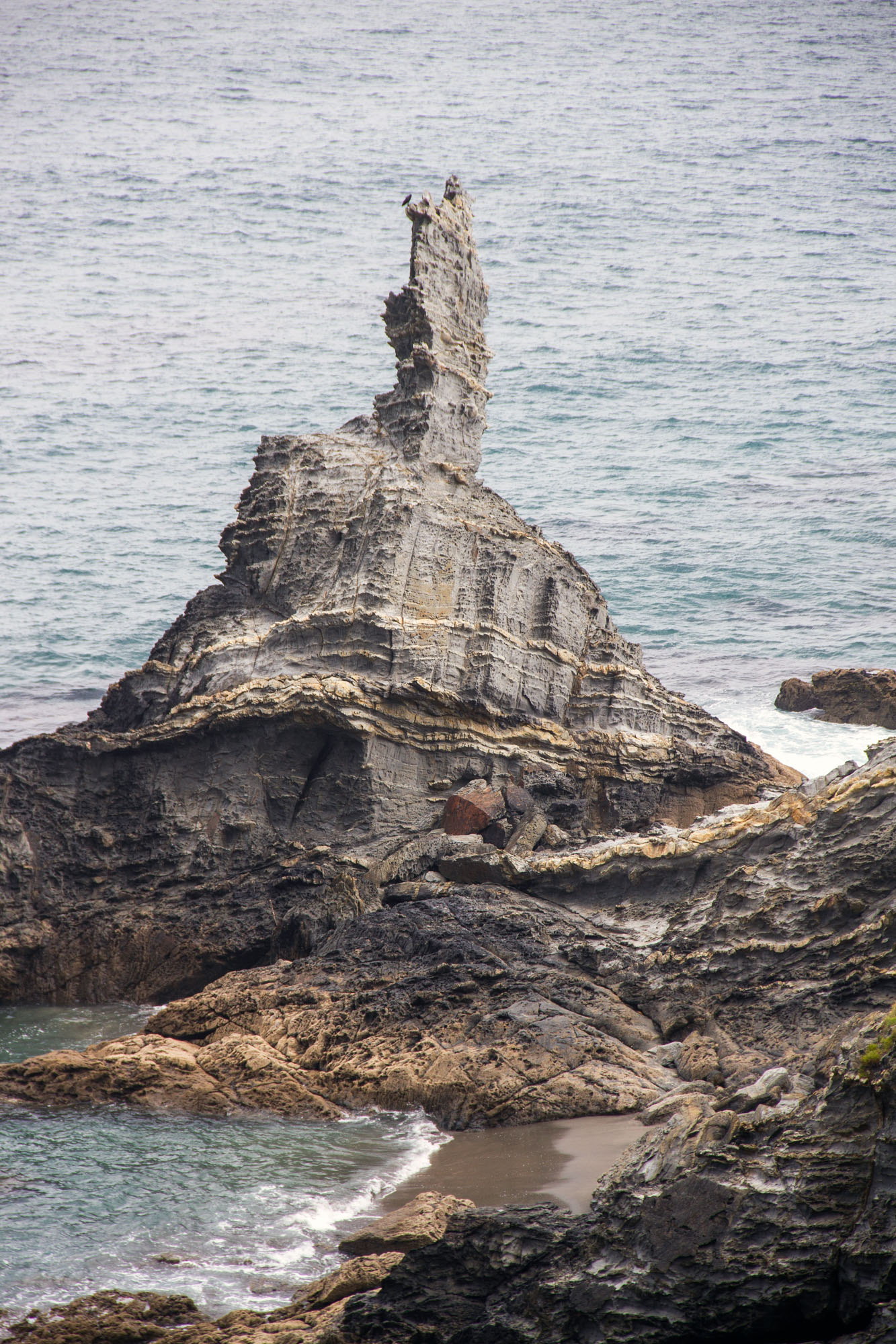 Strange Rock Formation Asturias