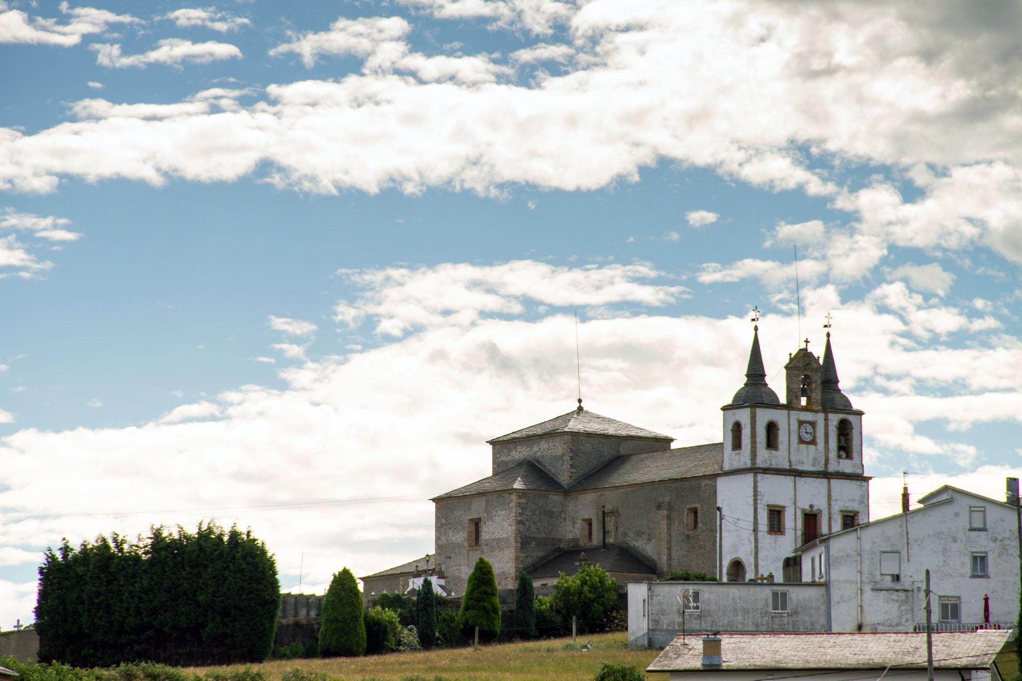 Church of Vega Asturias Foto