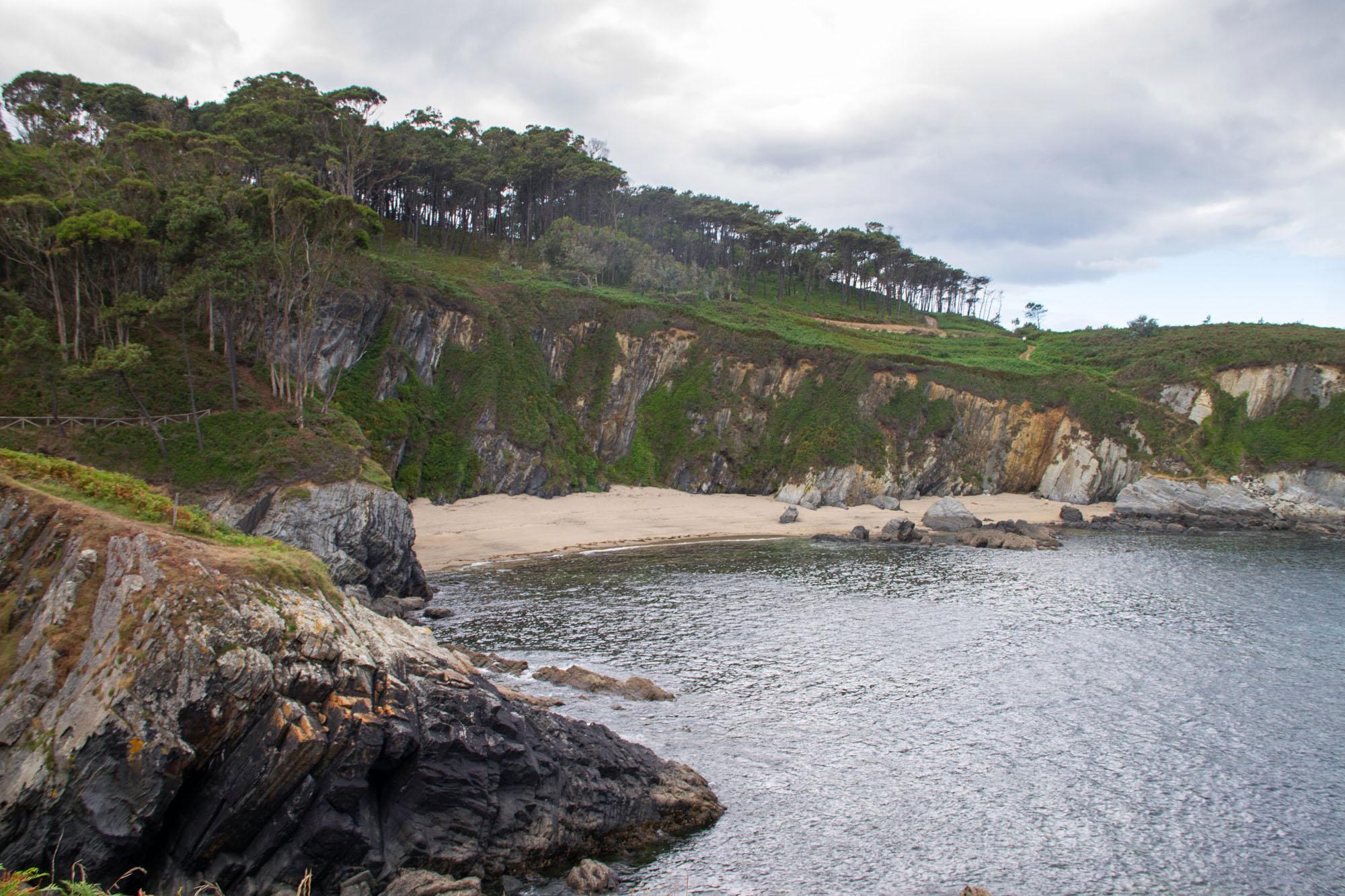 Sand Beach Asturias