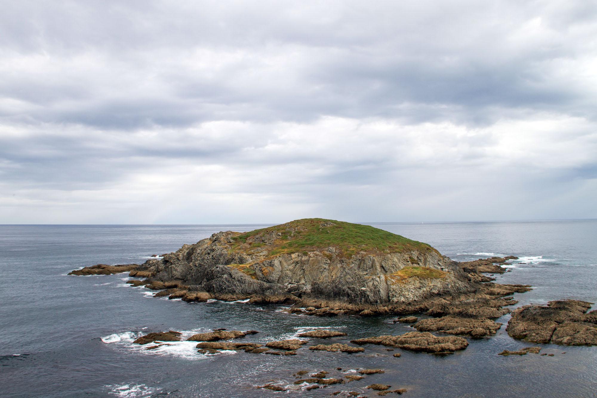 Tiny island Asturias