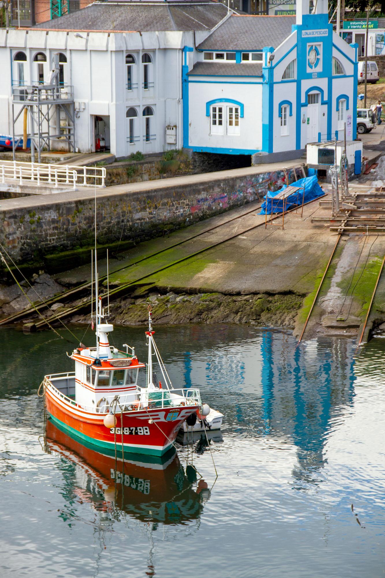 Photo Harbor Vega Asturias