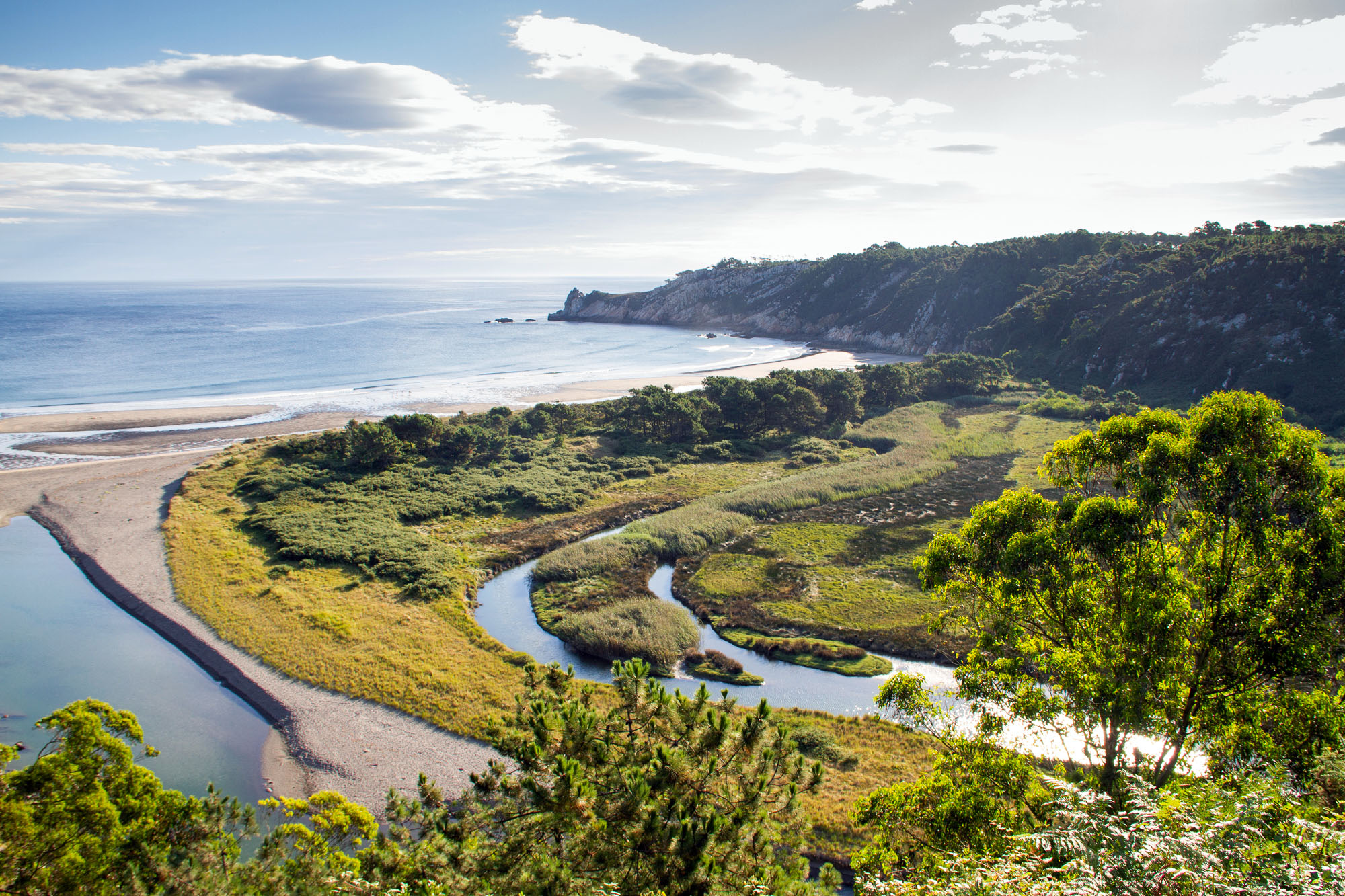 Unique beach and nature in Asturias