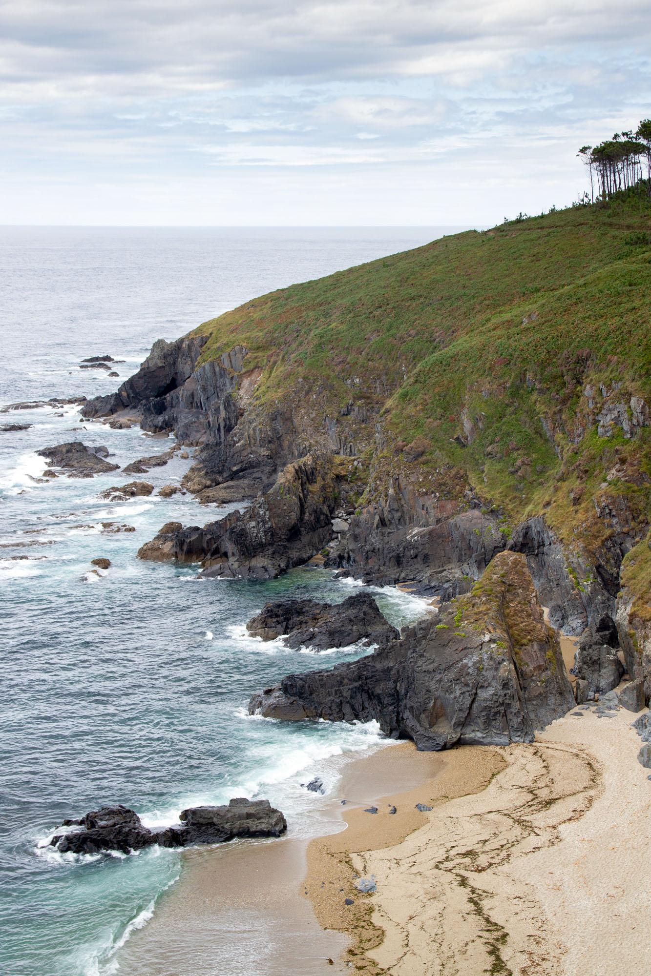 Beach hike Asturias
