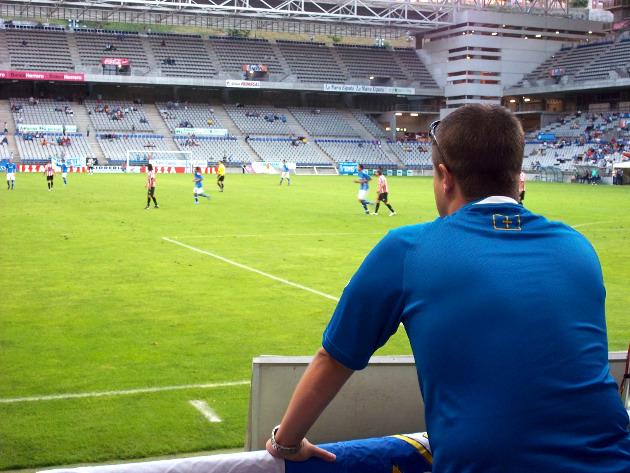 Great views stadium Oviedo