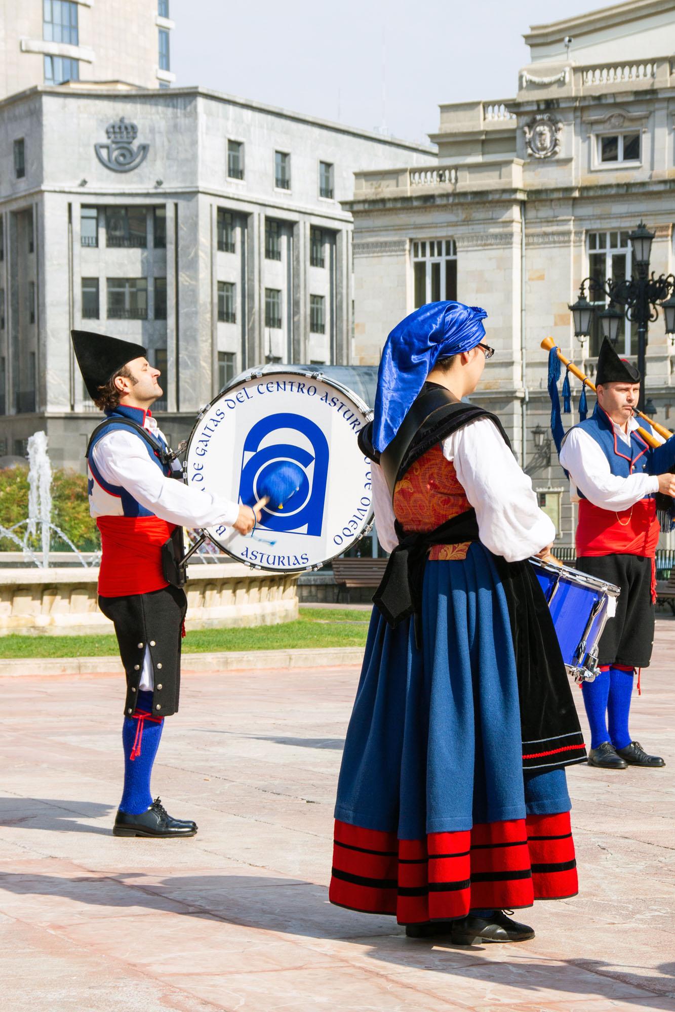 Gaita Banda Drum Asturias