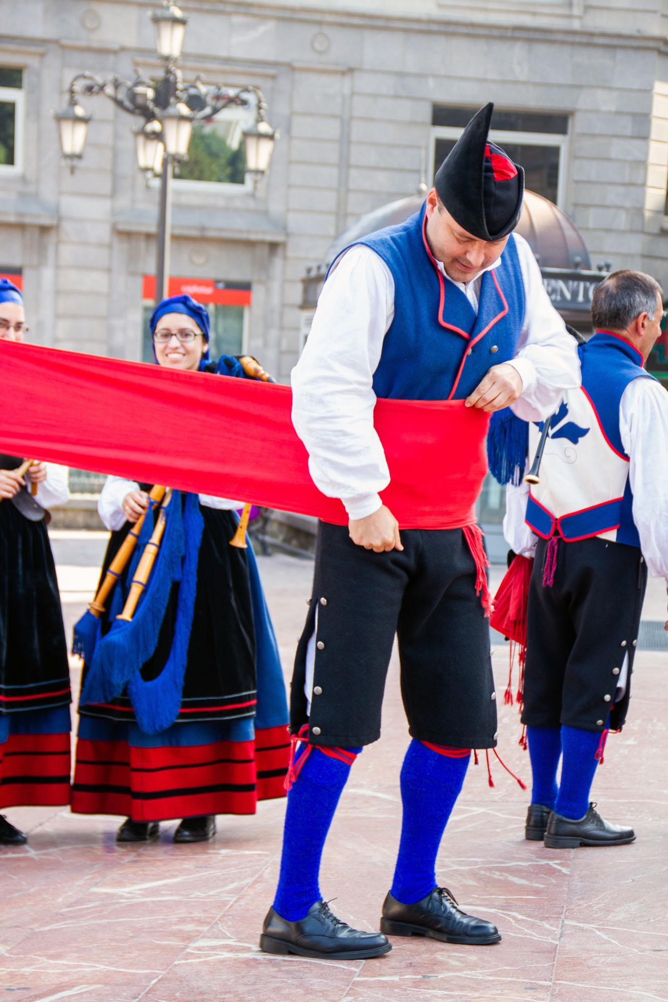Traditional Clothing Men Asturias Oviedo